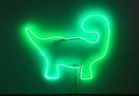 Megan Lange, My Green Dino, neon