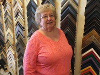 Rosie Sampley of Gordy Fine Art and Framing