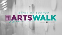 Brink of Summer Artswalk, sponsored by Downtown Development, , the Community Foundation of Muncie and Delaware County, Inc., and the School of Art at Ball State University