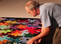 Kevin Campbell, The Puzzle Project, Brinkman Gallery