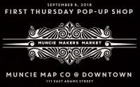 Muncie Map Co., Muncie Makers Market Pop-Up Shop
