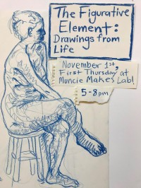 """""""The Figurative Element: Drawings from Life,"""