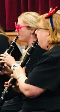 Clarinet Clowning for the