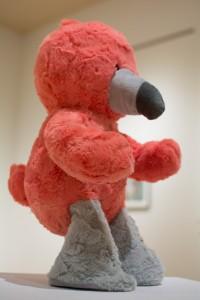 Chelsea Ortiz's work at the Atrium Gallery's MFA grad schow