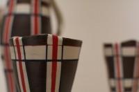 Tay White's work at the Atrium Gallery's MFA grad schow