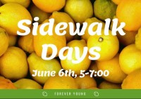 Forever Young's Sidewalk Sale and Lemonade Stand