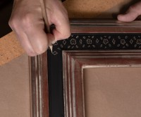 Handmade frames at Gordy Fine Art and Framing Co.