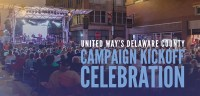 United Way Campaign Kickoff, Walnut Street