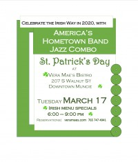 ☘️Celebrate the Irish with food, drink, and especially Music!