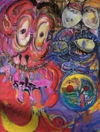BigSkorp Furio at the Madjax Art Show