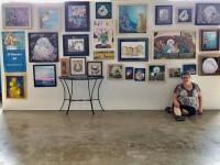Jill Palumbo at the Madjax Art Show