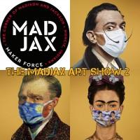 The Madjax Art Show 2, 2nd floor galleries at Madjax