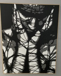 Nicholle Sanchez at The Madjax Art Show 6