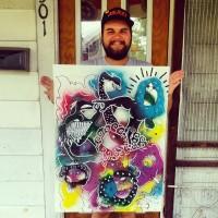 111 Arts Gallery featured artist Michael D'angelo Huerta