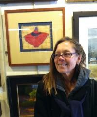 Still Floating, on display at Gordy Fine Art & Framing Co.