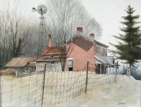 Artwork by Jim Faulkner, on display at Gordy Fine Art & Framing Co.