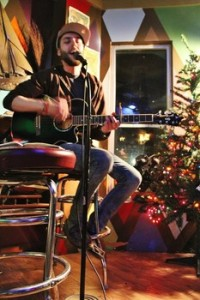 A shot from a past open mic night